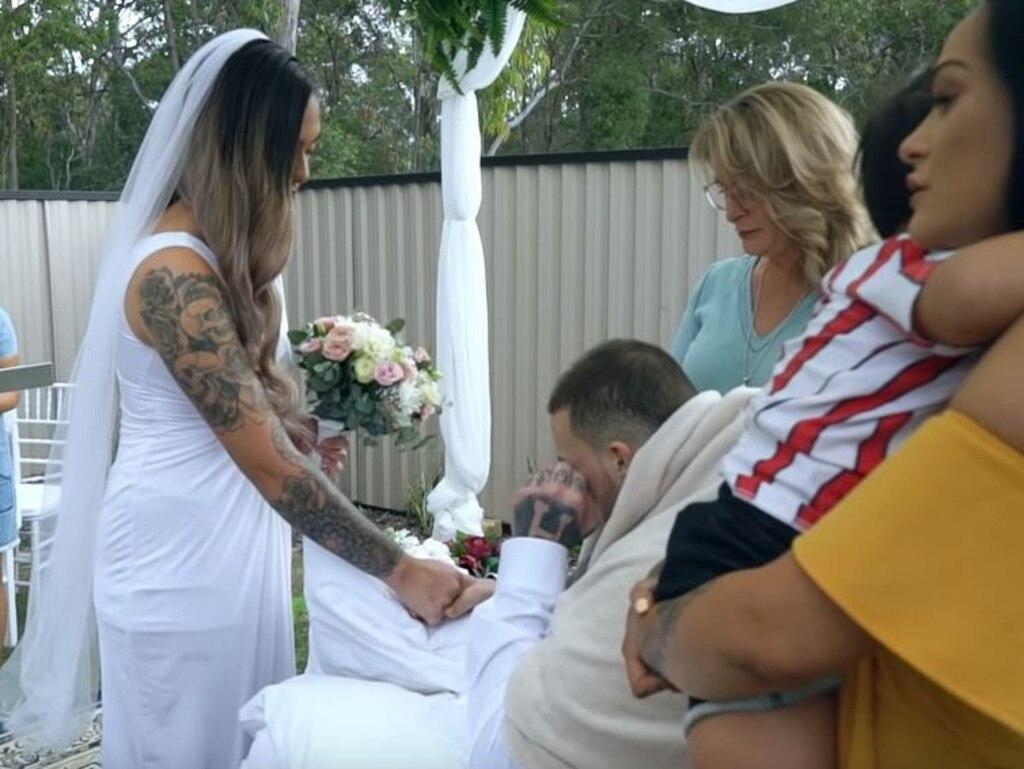 Wedding video. Picture: Dion Taumata/YouTube