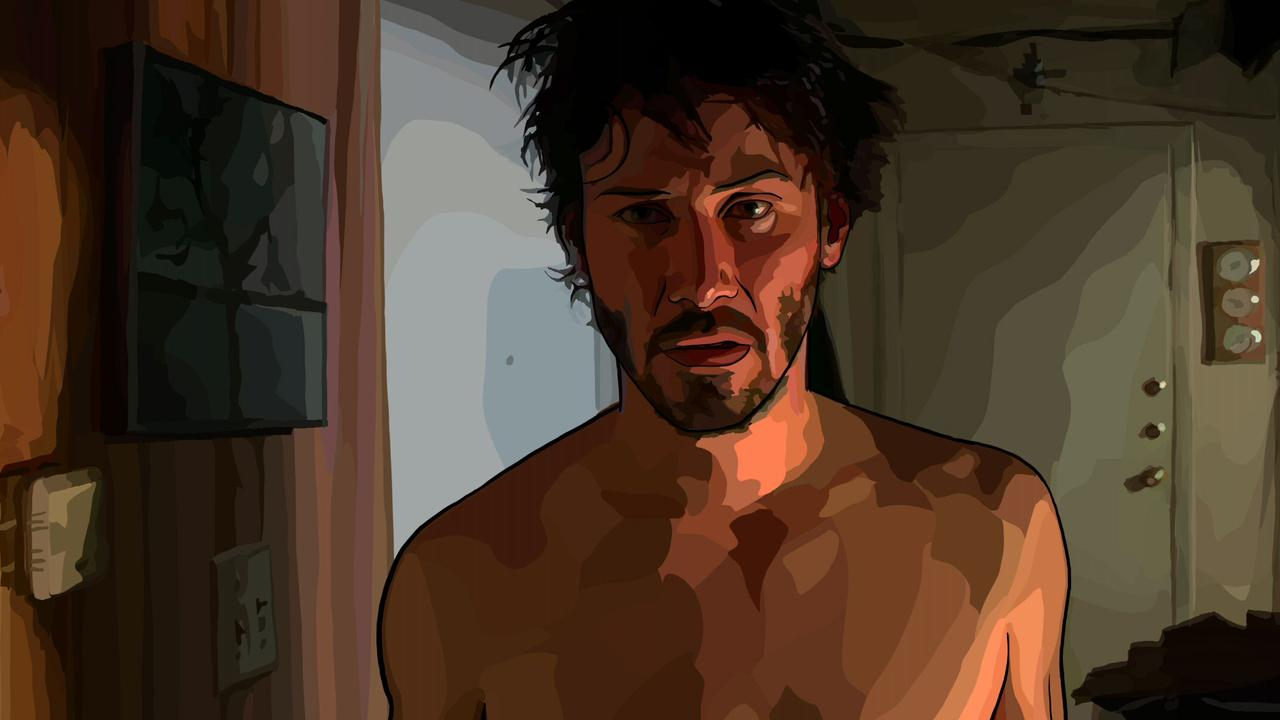 Keanu, rotoscoped