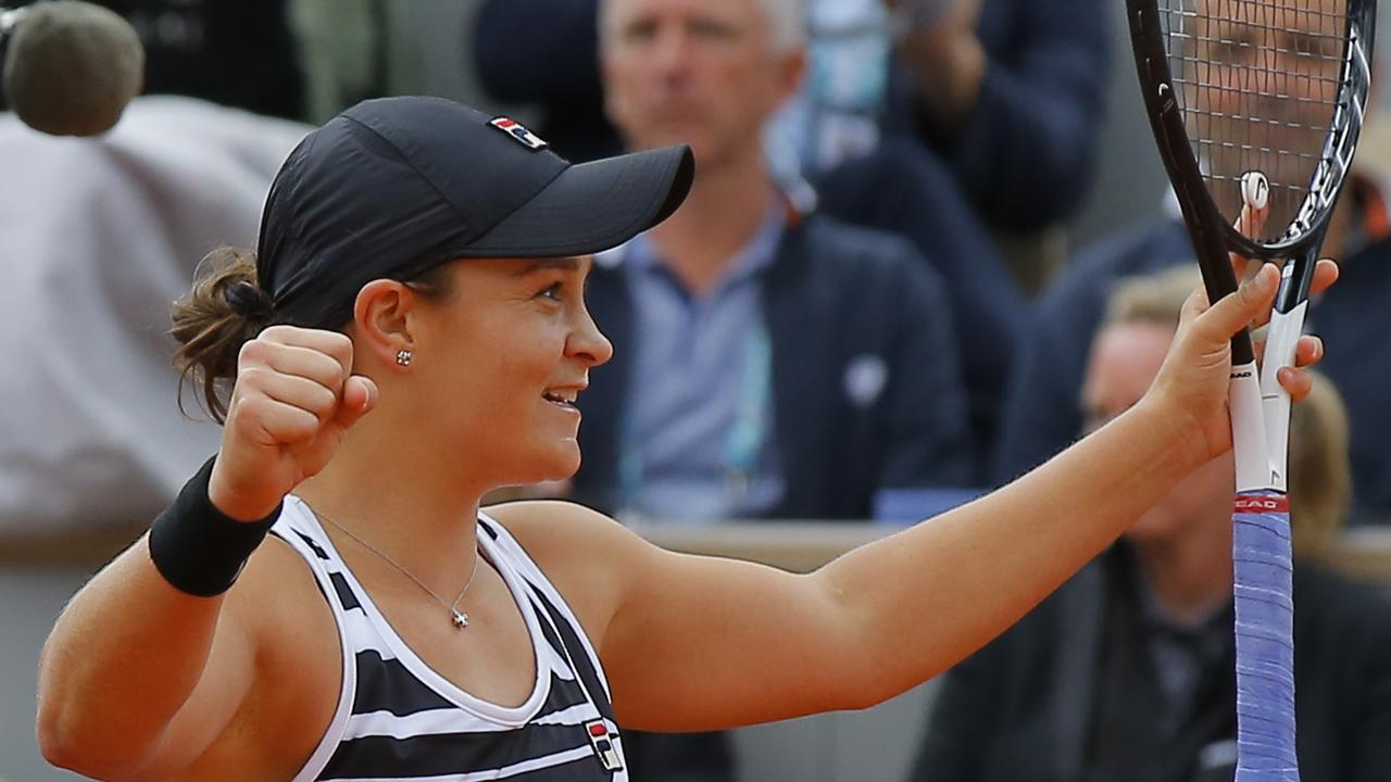 Daria Gavrilova claims to have predicted Ash Barty's first slam title win.