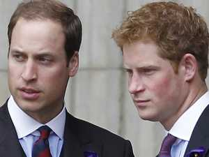 Queen 'sad' about William, Harry  feud