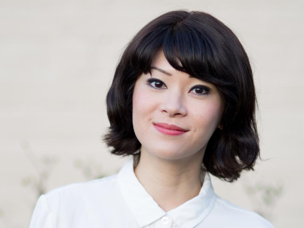 """The image of celebrated Brisbane playwright Michelle Law that was used by a scam artist called """"Jayde"""" on dating app Bumble."""