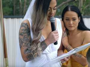 'Today I die': Heartbreaking wedding