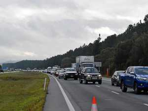 Bruce Hwy traffic crawling after three-car nose-to-tail