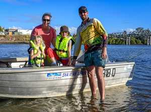 Large crowds gather for annual fishing event