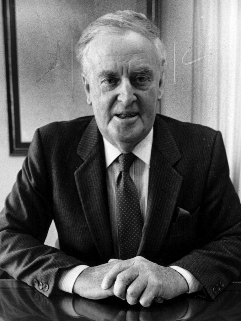 Former premier Sir Joh Bjelke-Petersen.