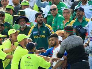 'Disgraceful' scenes mar World Cup