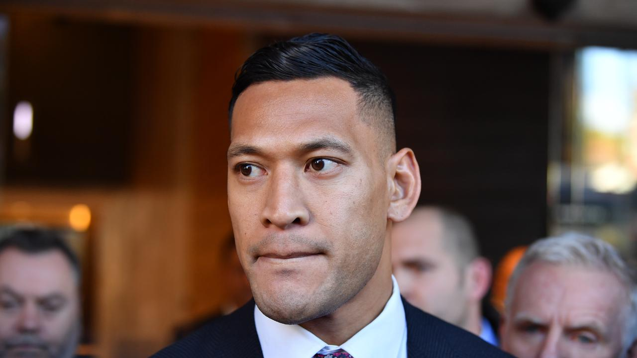 Despite potentially inciting the attacks with his comments, Folau has had to plea for his supporters to turn down the abuse.