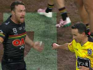 Maloney fumes at ref as Panthers cop rare double sin-binning