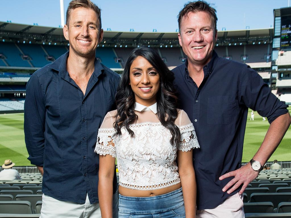 Mark Howard, Isa Guha and James Brayshaw were part of Triple M's summer commentary team.