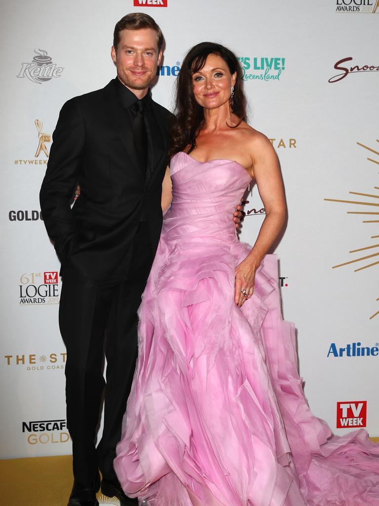 Sam Green and Essie Davis. Picture: Getty