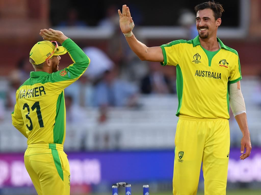 It wasn't so long ago reports suggested Mitchell Starc didn't want to play with David Warner.