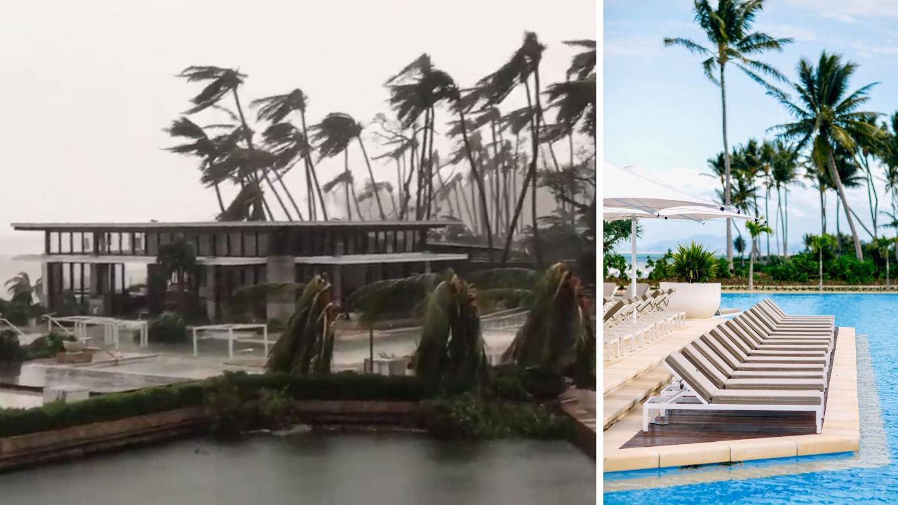 Graphic for Hayman Island $135 rebuild after Cyclone Debbie.