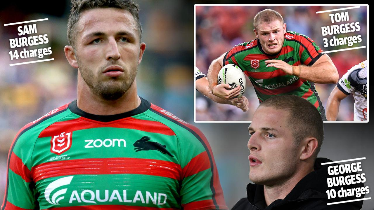 The Burgess brothers have shocking foul-play records.