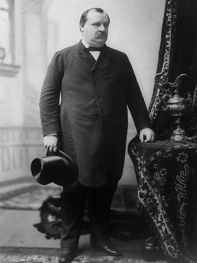 Grover Cleveland was unmarried when he became president. Picture: AP Photo/Library of Congress