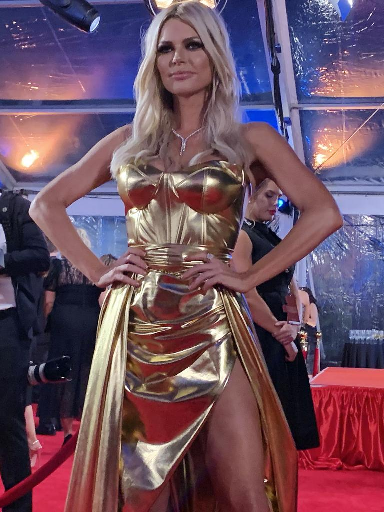 Sophie Monk rocks the Logies. Picture: News Corp Australia