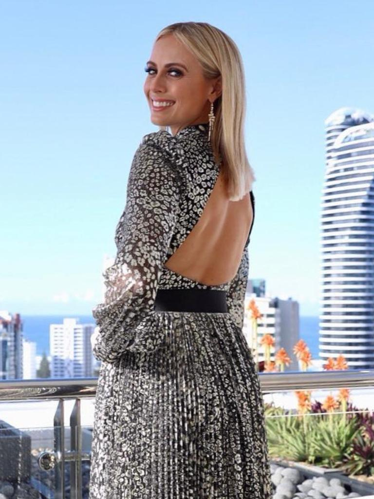 Sylvia Jeffreys. Picture: @channel9style/Instagram