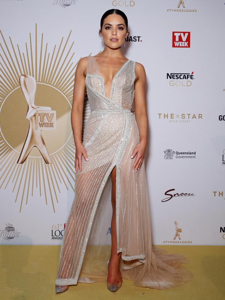 Neighbours actor and Dancing With The Stars contestant Olympia Valance. Picture: Matrix