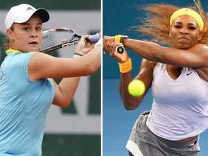 Serena says Barty has the right stuff