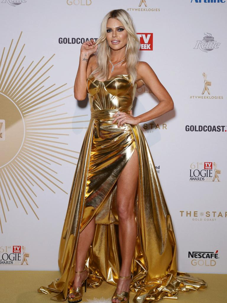 Sophie Monk rocks the Logies. Picture: Matrix