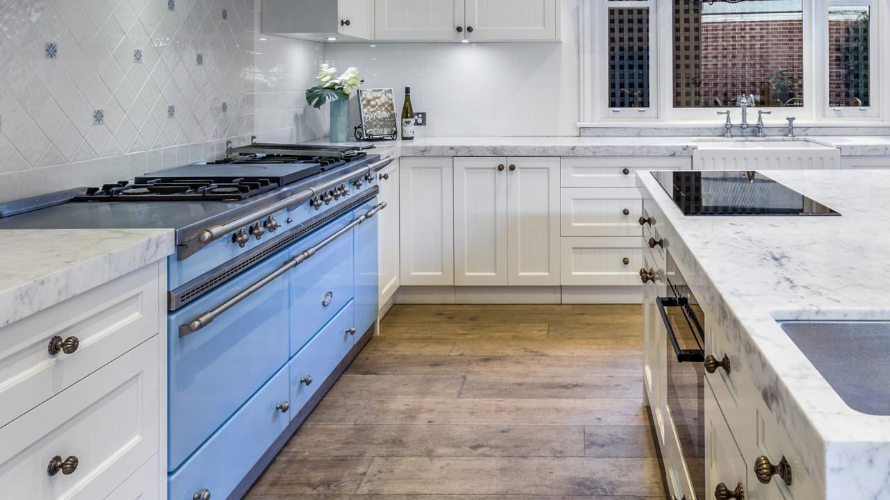 An impressive $50,000 Lacanche oven.