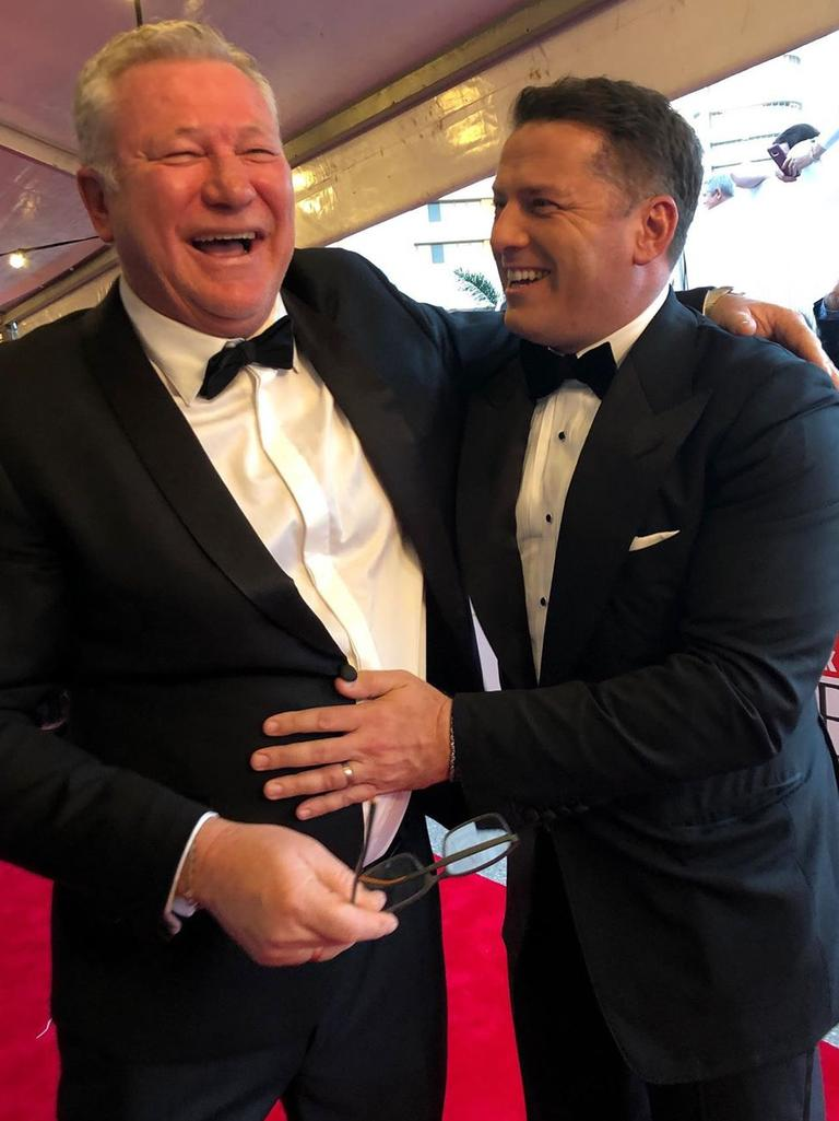 Scotty Cam and Karl Stefanovic. Picture: @scottycamofficial/Instagram