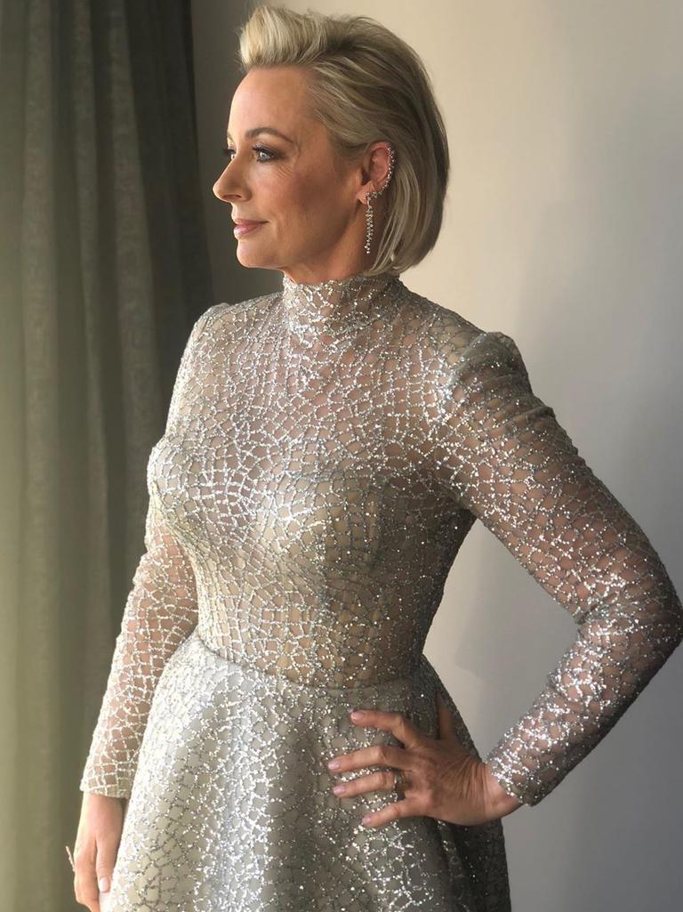 Gold Logie nominee Amanda Keller. Picture: @amandarosekeller/Instagram