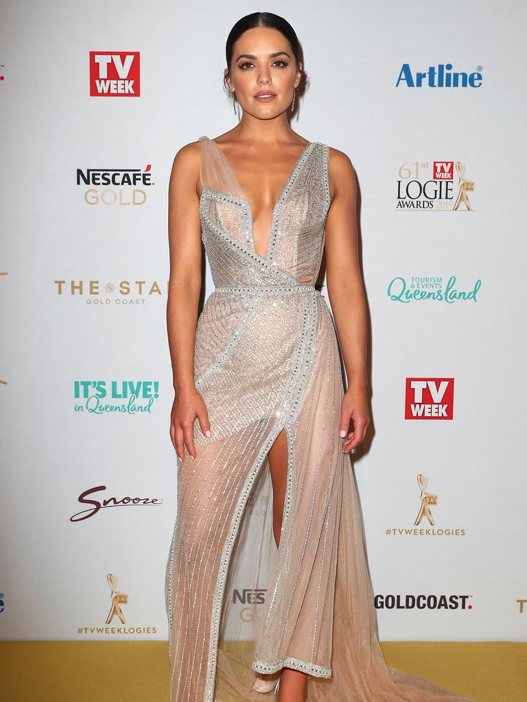 Neighbours actor and Dancing With The Stars contestant Olympia Valance. Picture: Getty