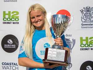 Mudjimba surfer secures spot at world tour trials