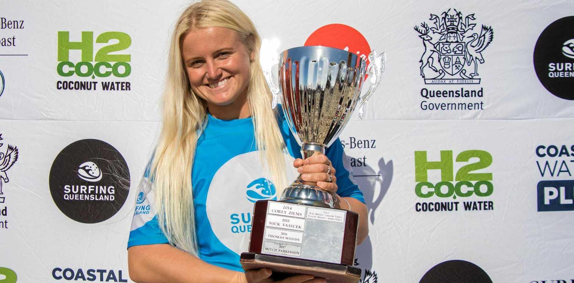 CHAMP: Siena Hanna was crowned open women's Queensland champion.