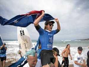Son of Aussie surf legend Brenden Margieson on the rise