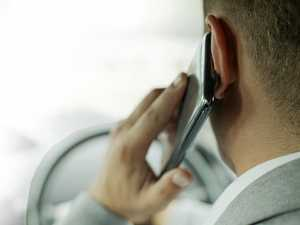 TOUGH FINES: Drivers dying to answer phones