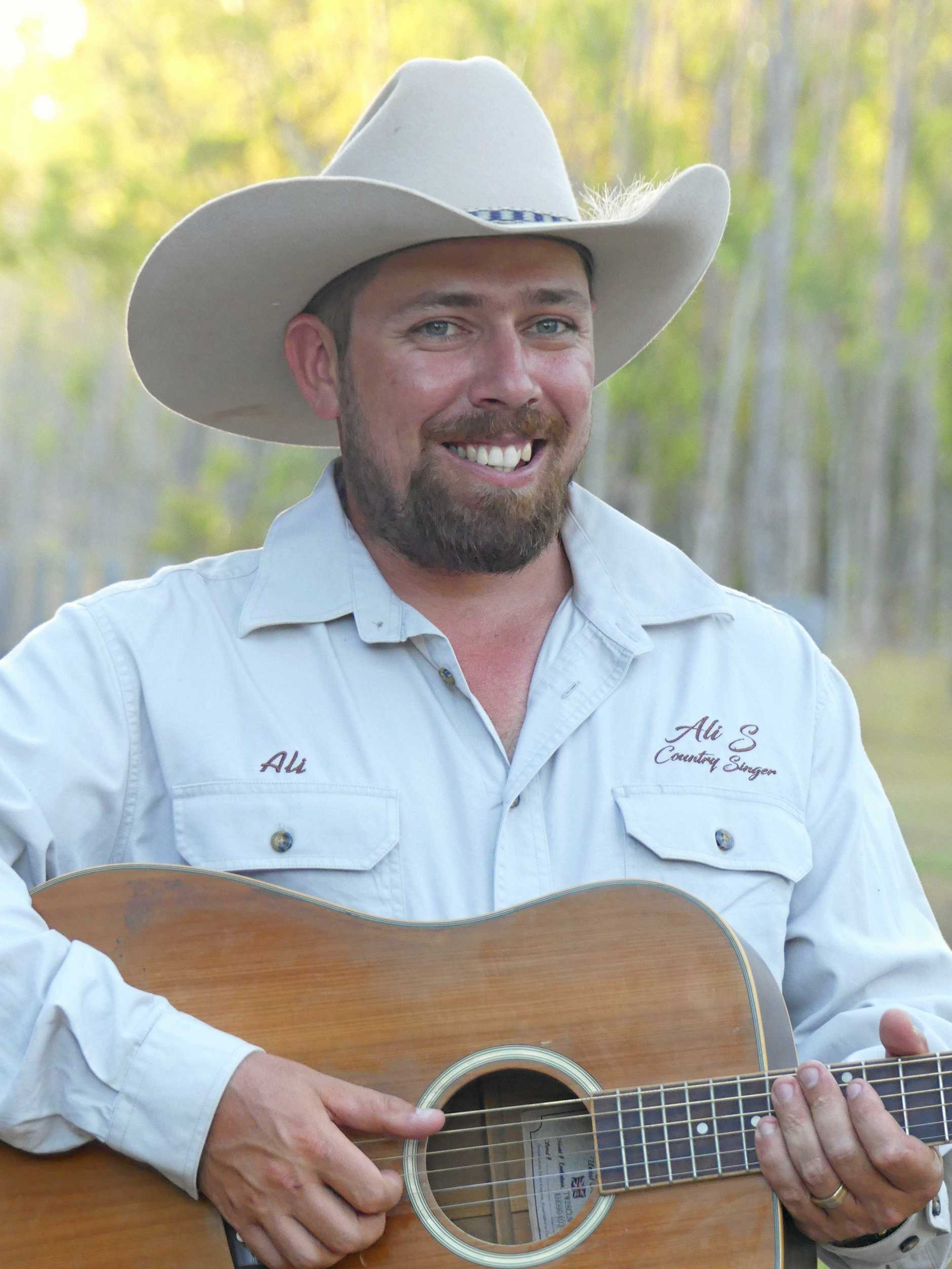BACK-TO-BACK: Hervey Bay country music artist Ali Sacipovic is a semi-finalist in the Gympie Music Muster Talent Search for the second year in a row.