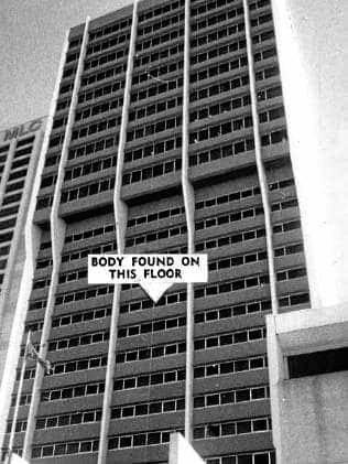 Rex Keen was found murdered at the Lennons Hotel in Brisbane.