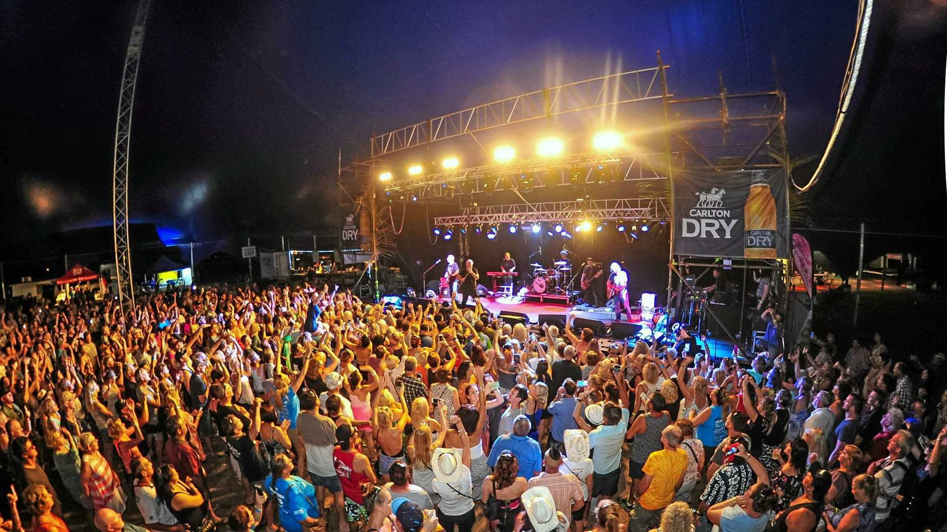 There are concerns over a new beach music festival at Coolangatta.