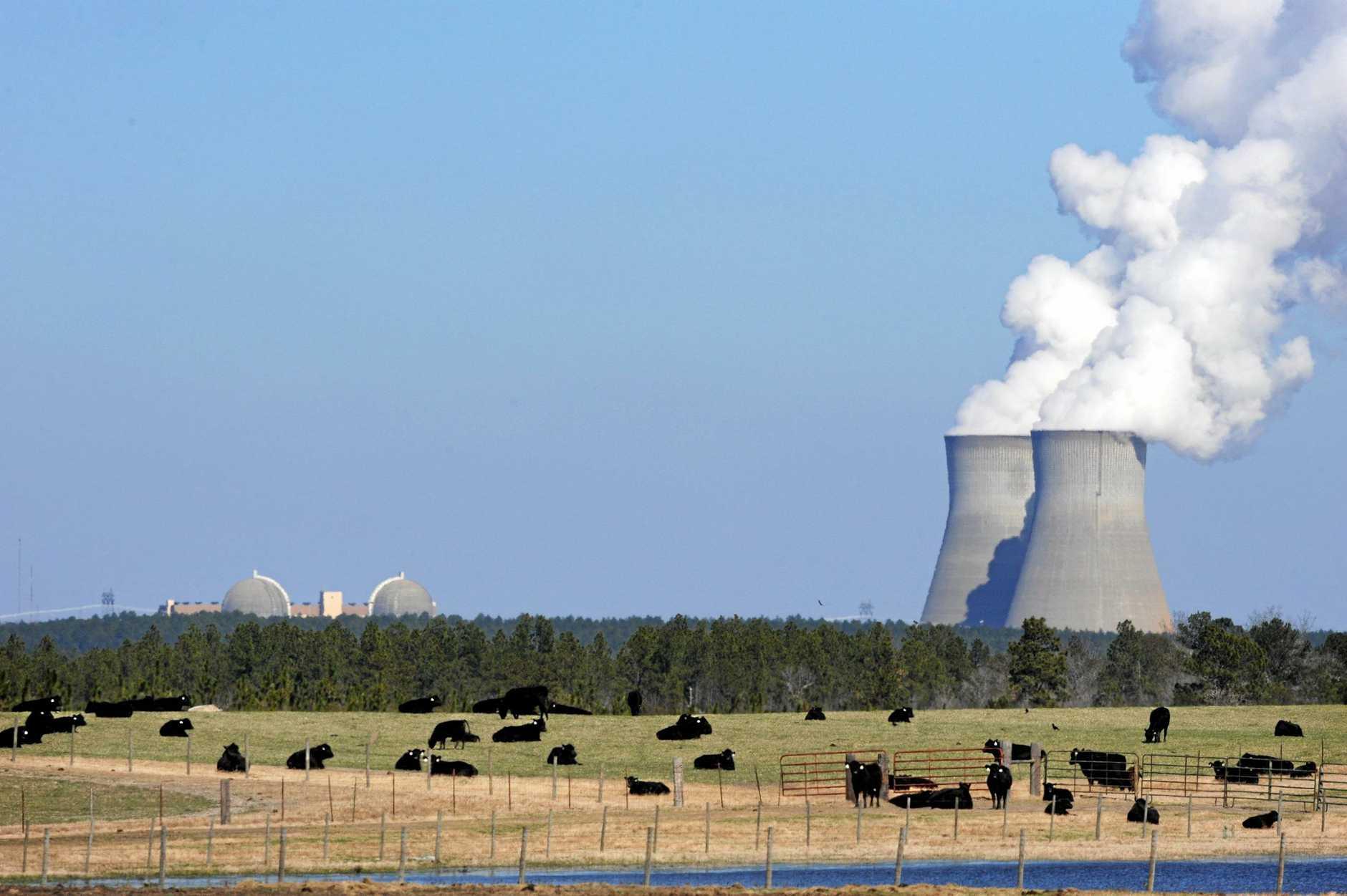 A nuclear power plant in Georgia, USA.