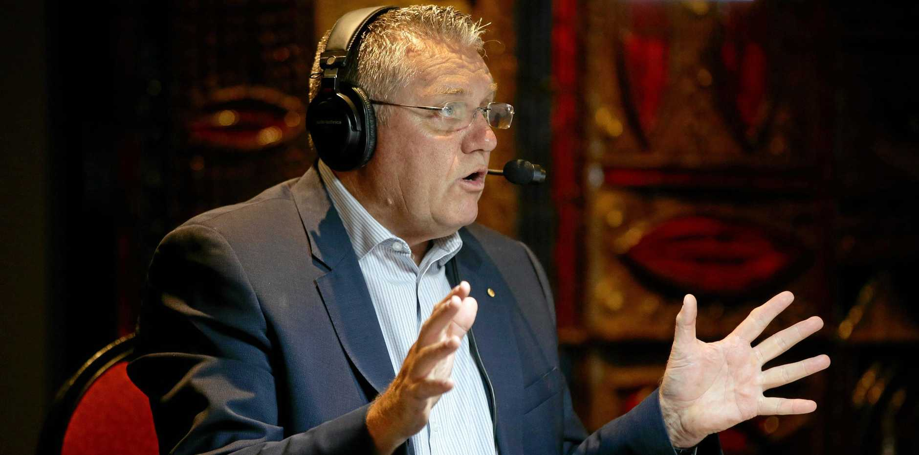 Ray Hadley will no longer be heard on Fraser Coast radio station Triple M.