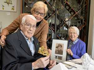 GALLERY: Birthday milestone for Toowoomba WWII veteran