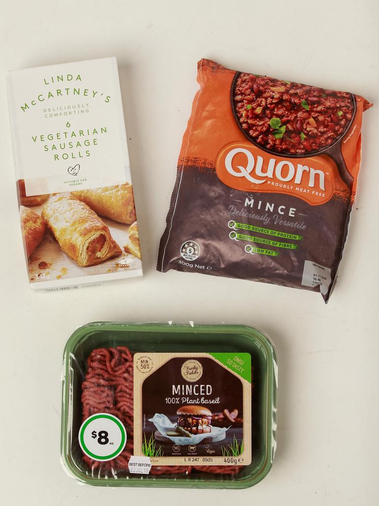 Some of the products in Australian supermarkets. Picture: Justin Lloyd