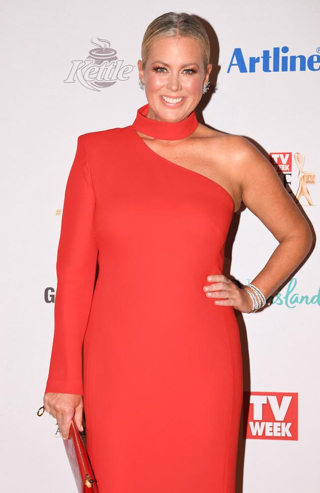 Samantha Armytage was less than impress by Martha from MAFS at the Logies. Picture: AAP