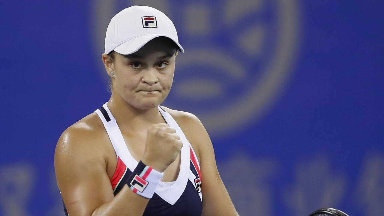 Barty came back determind, focused on the one-on-one battles. Picture: Kevin Lee/Getty Images