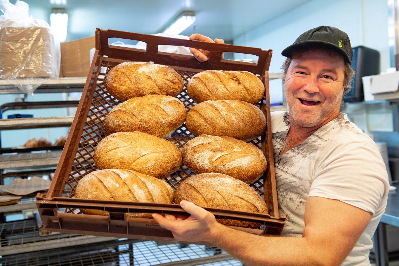 K'Pane Artisan Bakery, owner Bret Knight.