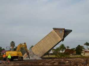 Last structure at M'boro's historic flour mill demolished