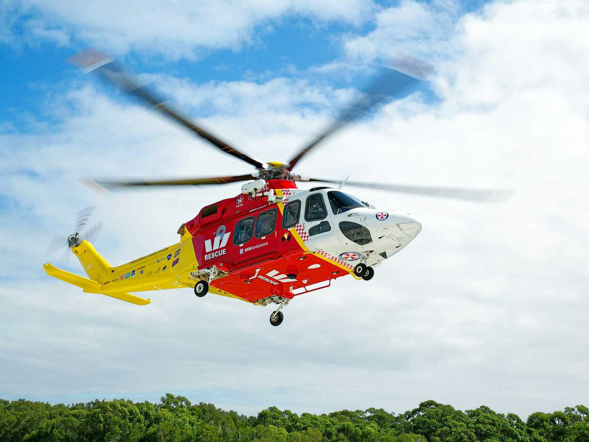 Westpac Lifesaver Rescue Helicopter Service assisted in a search for a man missing in remote area near Casino over the weekend.