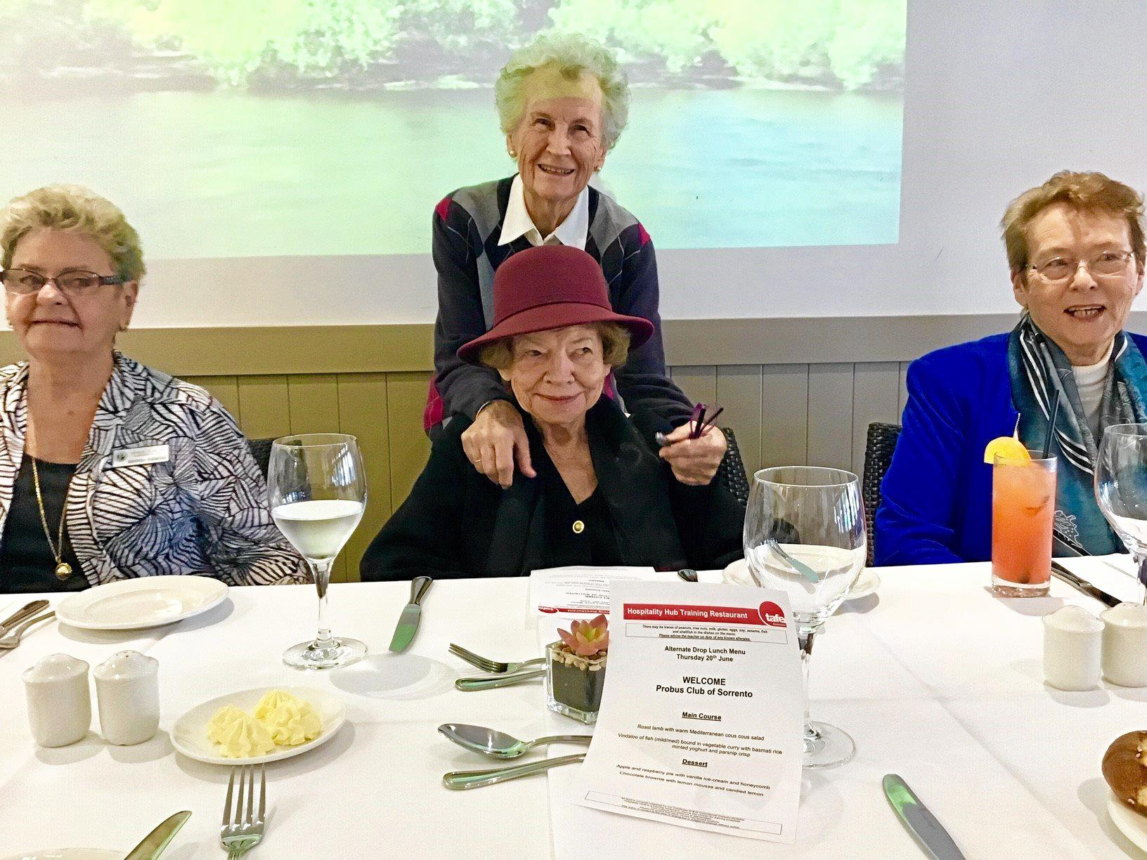 STUDENTS IMPRESS: Sorrento Probus Club members enjoyed the wonderful hospitality of the TAFE Southport Hospitality Hub at their luncheon.