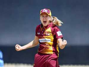 Elite cricketer's battle with disease connects her to Rocky