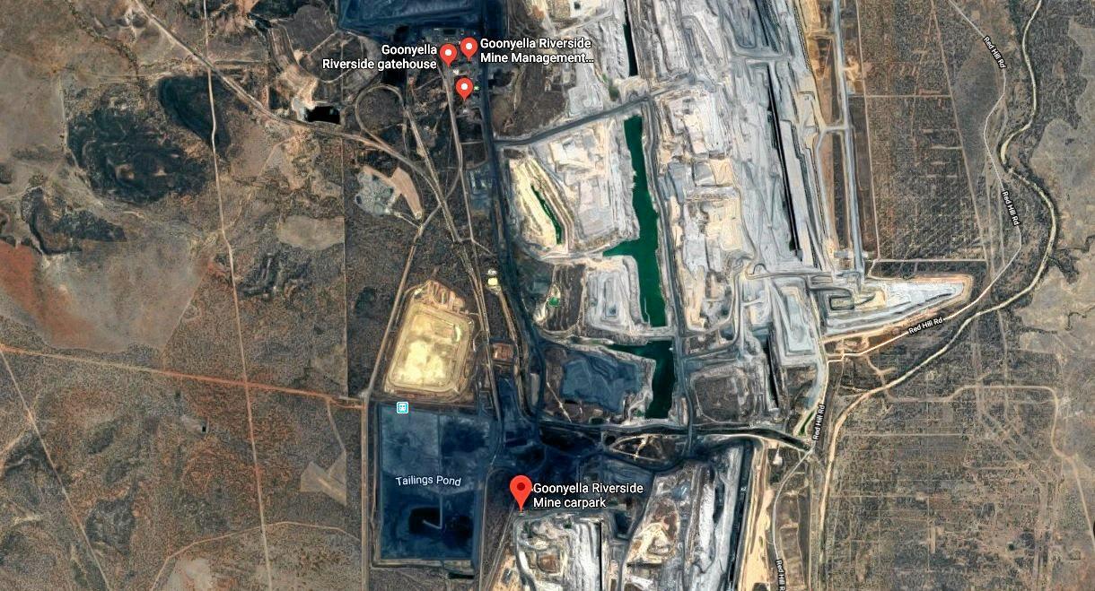 Goonyella Riverside mine.