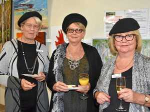 Silver theme to mark Tinbeerwah Art Group's 25th show