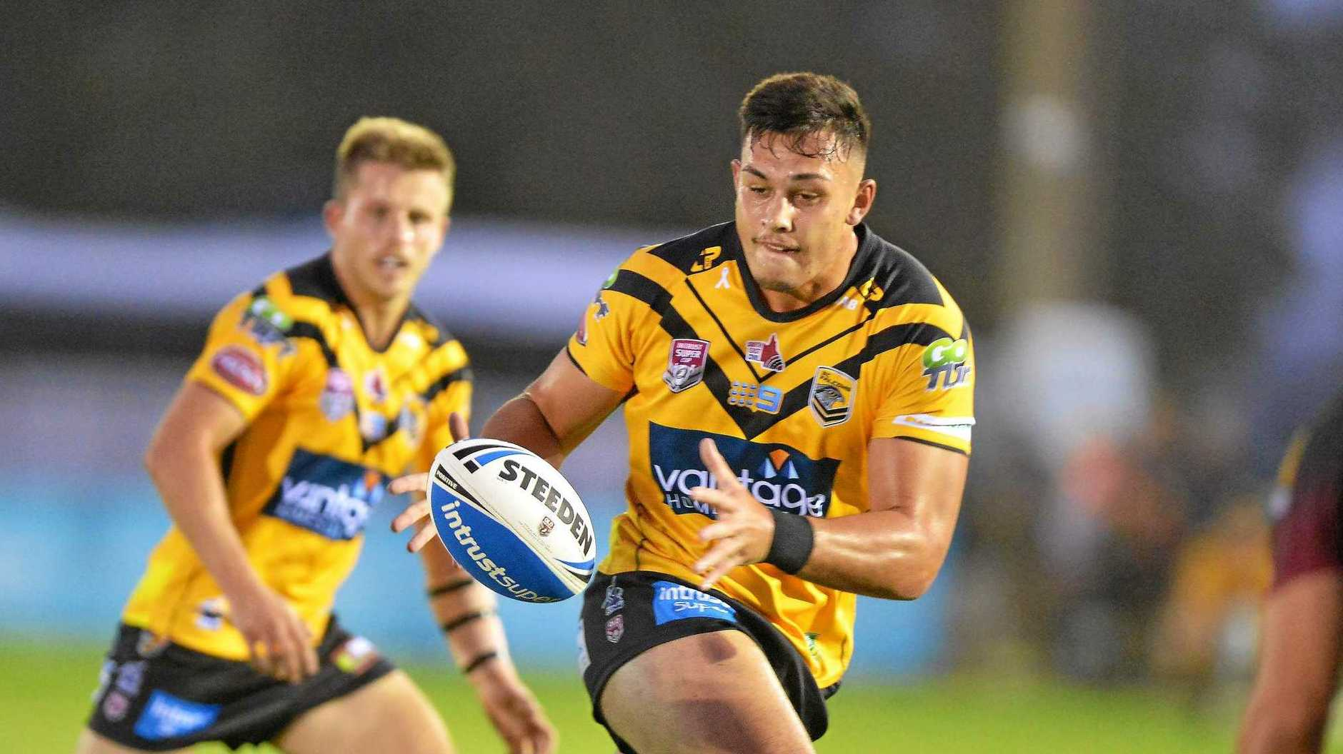 Teenage giant Tino Fa'Asuamaleaui will be unleashed for the Melbourne Storm on Thursday night, making his long-awaited NRL debut. Tino has been rock solid for the Sunshine Coast Falcons.