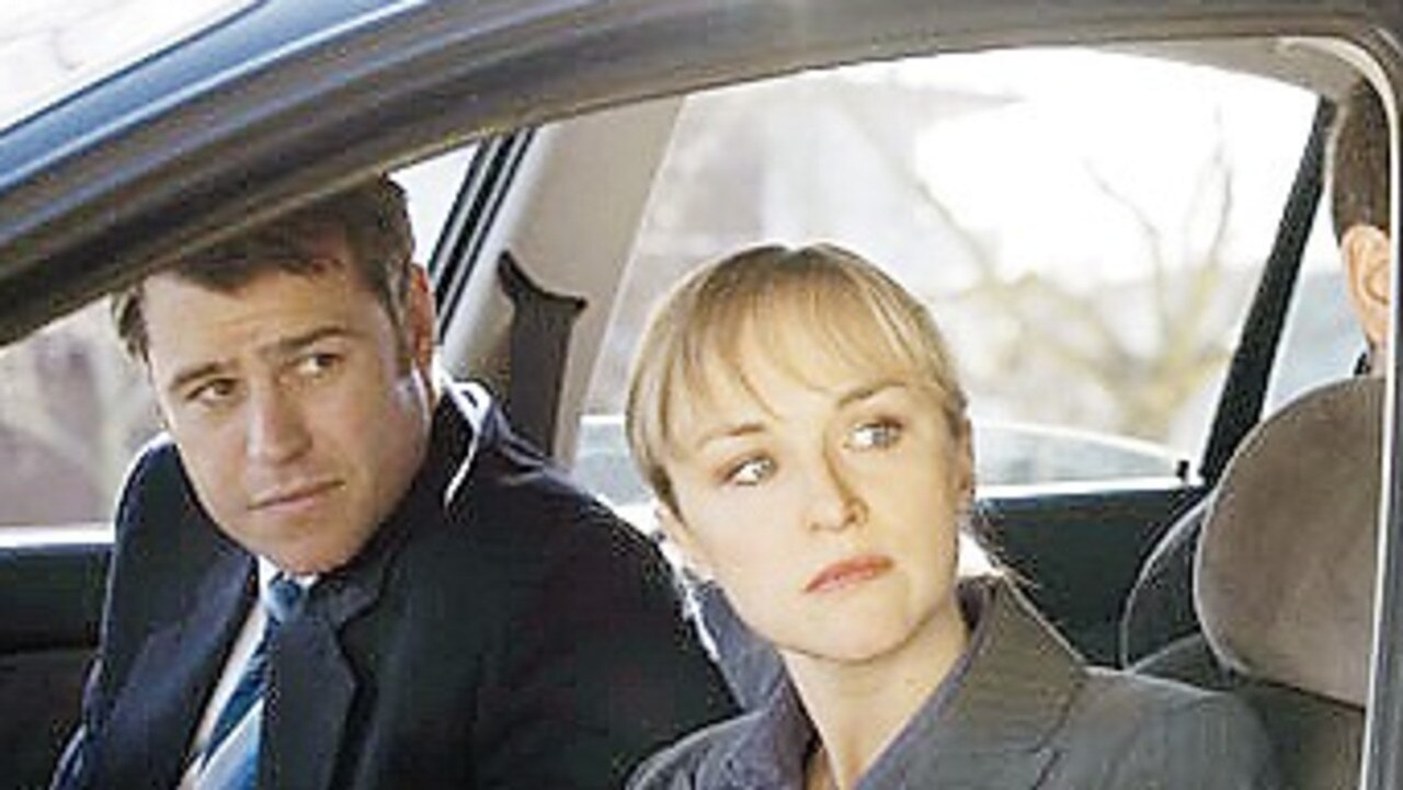 Rodger Corser as the police officer based of Mr Bateson in Underbelly.