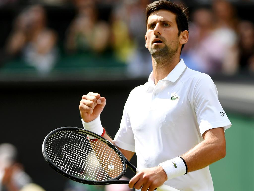 Novak Djokovic is captain of a sinking ship.